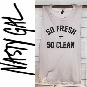 Nasty Gal Private Party - So Fresh So Clean Tank